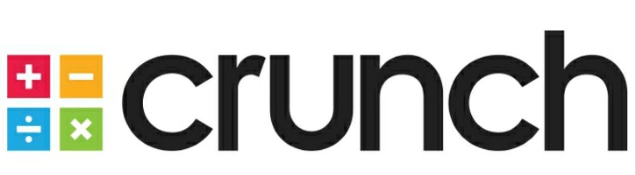 Crunch logo banner r