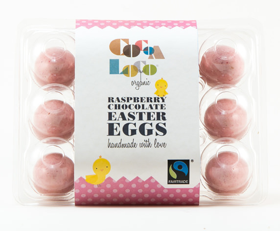 Cocoa Loco - pink mini eggs